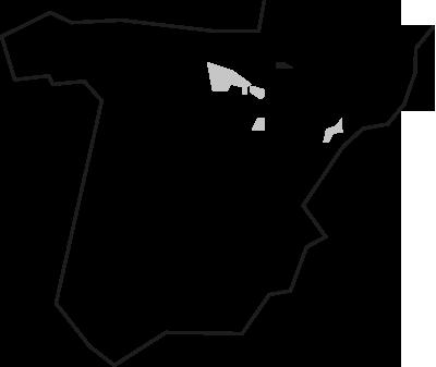 Mapa Garnacha Perdida del Pirineo