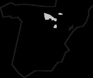 Mapa Garnacha Foxca del Priorat